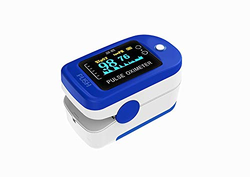 Multipurpose Digital Fingertip Pulse Oximeter with data storage India 2020