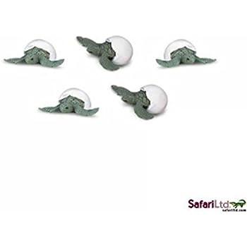 Safari LTD. Good Luck Mini Toys Sea Turtle Hatchlings Set of 10