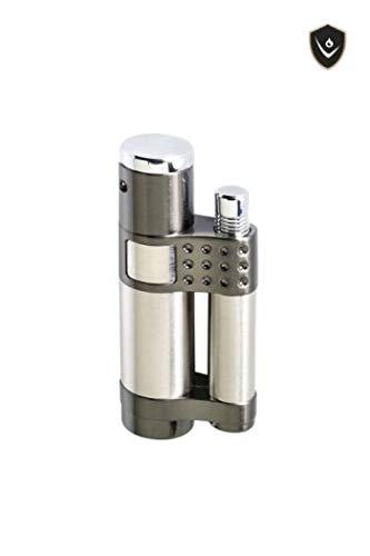 VECTOR Stratos Torch Lighter Gunmetal Satin