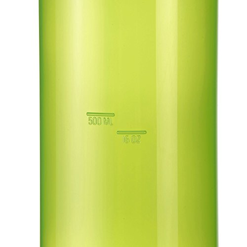 Quechua-Aluminum-Water-Bottle-Wide-Aperture-9-inch-Green