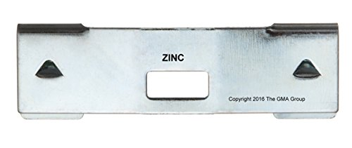10 Pack Vertical Blind Vane Saver ~ Zinc Curved Repair Clips ~ Fixes Broken