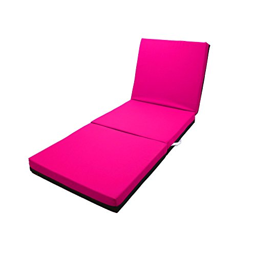 Magshion Single Size (27''Wide) Memory Foam Mattresses Folding Bed (Pink) by Magshion