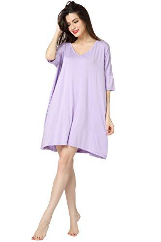 Aibrou Womens Sleeves T Shirt Sleepwear product image