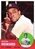 1963 Topps Regular (Baseball) Card# 60 Elston Howard of the New York Yankees Ex Condition