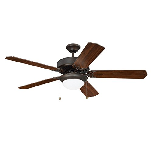 Craftmade K11296 Pro Energy Star 209 52'' Ceiling Fan Kit in Aged Bronze Brushed by Craftmade