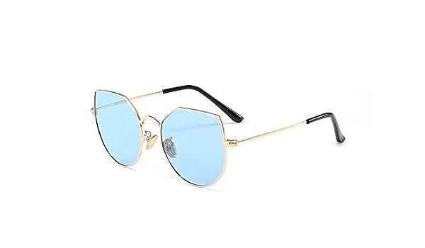 Weichunya Gafas de Sol polarizadas para niños Gafas de Sol con protección UV, Gafas de Sol para niños y niñas Gafas de Sol Cool Trend Color (Color : Blue): ...