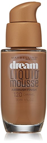 Maybelline Dream Liquid Mousse Airbrush Foundation, Natural Ivory [30], 1 oz