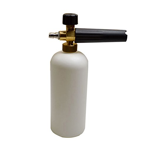 """High Pressure Washer Adjustable Foaming Lance The Car High Pressure Foam Wash Gun with 1/4 """"Quick Connector Bottle Watering"""