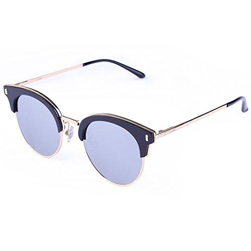 Carfia Vintage Sunglasses Mirrored Polarized product image