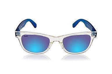 SHAKAS HAWAII UV 400 Classic Mirrored wayfarer Customizable Hawaiian Sunglasses Active Lifestyle For Men And Women
