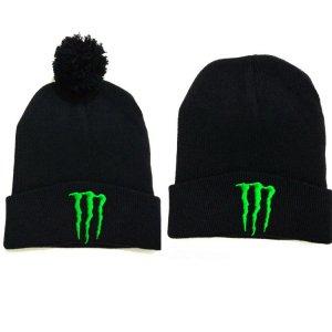 Gu Monster Ball beanie cappello invernale a maglia di lana del cappello  femminile del marchio Tide 95ef9532ba11