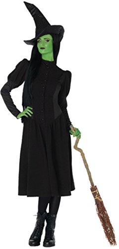 (Leg Avenue Womens Wicked Witch Elphaba Land Of Oz Emerald City Fancy Costume, L)