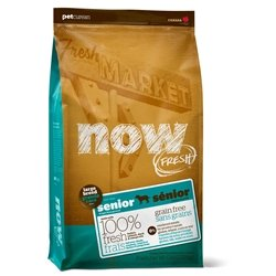 Now! 152512 Fresh Grain Free Large Breed Senior Dog Food, 25-Pound Bag by Now!