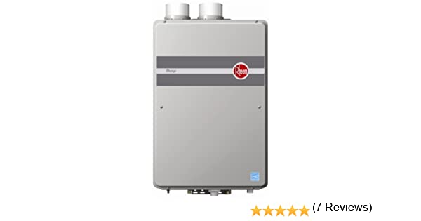 Rheem RTGH-95DVLN 9 5 GPM Indoor Direct Vent Tankless Natural Gas Water  Heater