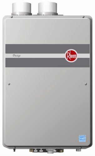 Rheem RTGH-95DVLN 9.5 GPM Indoor Direct Vent Tankless Natural Gas Water Heater (Am Lab Cleaning Products)