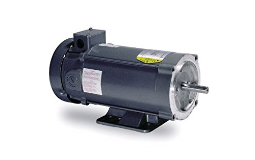 - Baldor Electric CDP3320 56C Frame TENV General Purpose DC Motor, 1/3 hp, 1750 RPM, 90VDC, C Face with Removable Base, F1