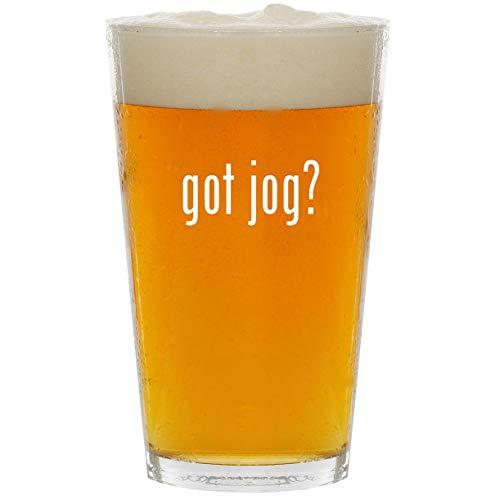 Bebelove Double Jogging Stroller - got jog? - Glass 16oz Beer Pint