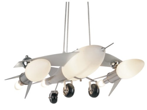 Airplane Pendant Light Fixture in US - 8