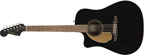 (Fender Redondo Player LH, Walnut Fingerboard, Jetty Black)