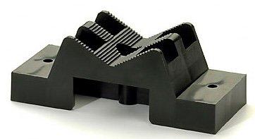 Kwik Block KB5400, Plastic universal sized fastening bracket for pipe, tubing, and wiring (10) (Mounting Plastic Block)