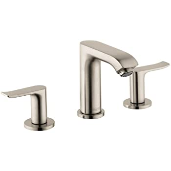 Hansgrohe 31083821 Metris E Widespread Faucet, Brushed Nickel