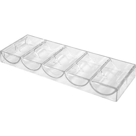 Trademark Poker Clear Acrylic Chip Rack//Tray