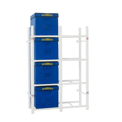 Bin Warehouse DFAE2M2X4BW0408 Tote Storage System for 8-Totes