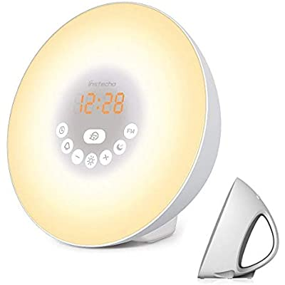 instecho-sunrise-alarm-clock-digital