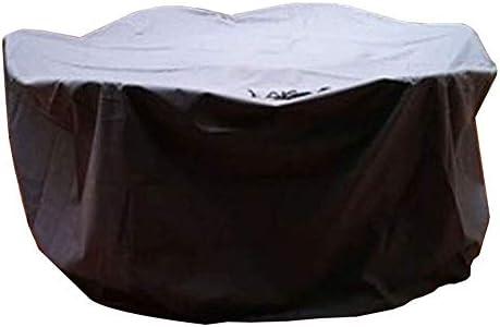 防水カバーガー ガーデン家具カバー屋外保護カバーガーデン家具防水通気性オックスフォード生地保護カバー、ブラック シバオ (Size : 190x135x90cm)
