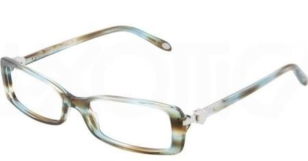 533b429849c Amazon.com  Tiffany Eyeglasses 2035 8124 size  50-16-135 DEMO LENS OCEAN  TURQUOISE  Clothing