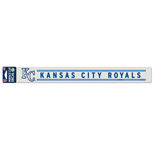 (Wincraft MLB Kansas City Royals WCR17583014 Perfect Cut Decals, 2