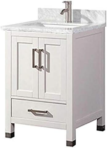 Amazon Com Belvedere Bath 24 Inch Traditional Freestanding White
