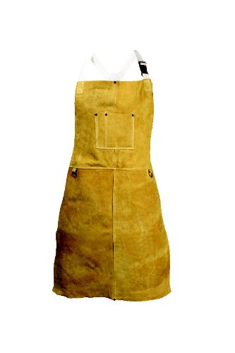 Caiman 03136 36'' Apron with Bib Pockets by Caiman