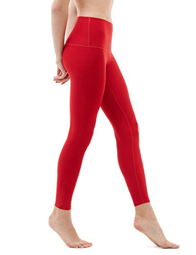 Solid Red Leggings - 3
