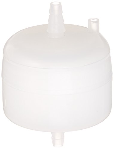 0.2//0.2 Micron Whatman 6715-3602 Polycap TC 36 Polyethersulfone Membrane Capsule Filter with SB Inlet and Outlet Plus Filling Bell 60 psi Maximum Pressure