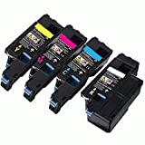 Trend Premium Compatible Cartridge combo pack (one of each color) for Dell C... for C1660w Printers