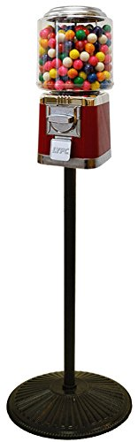 Classic Gumball Machine with Retro Stand (Gumball Vintage Machine)