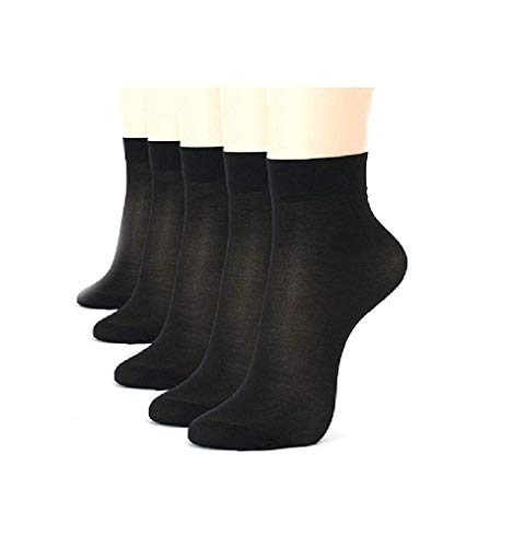 INFISPACE Women #39;s Ankle Length Cotton  amp; Lycra Socks