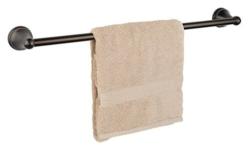 Dynasty Hardware Brentwood 30 Inch Single Towel Bar Oil Rubbed Bronze ()