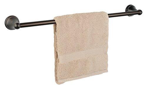 Towel Bronze Bar Single - Dynasty Hardware Brentwood 30 Inch Single Towel Bar Oil Rubbed Bronze