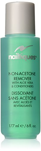 Nail Enamel Remover (Nailtiques Non-Acetone Remover with Aloe Vera and Conditioners, 6 Ounce)