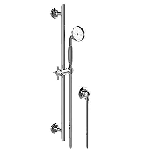 Graff G-8636-C16SB-PC Traditional Wall Mount Single-Function Handshower with Slide Bar In Polished Chrome