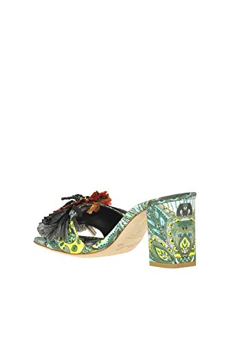 Sofia Woman Embellished Mules M Multicoloured x8pwzx