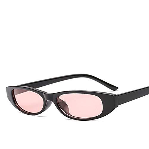 JFSJDF Vintage Red Goggles Cat Women Sunglasses Eye Glasses Retro Steampunk Ladies Small Triangle ()