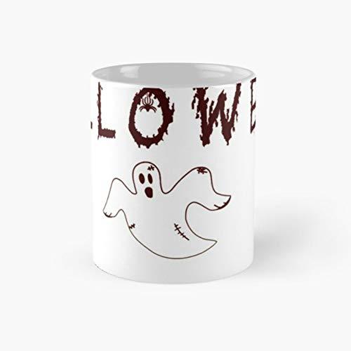 Happy Halloween Halloween Is Coming Oktober Spooktober Geschenk Geschenkidee Hexe Ghost Geist Spinnen Spinne Kürbis Pumpkin Gruselig Design Verkleidung Verkleiden 110z Mugs ()