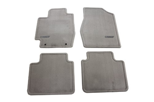 Genuine Toyota Accessories PT208-32020-21 Custom Fit Carpet Floor Mat - (Stone), Set of 4 (Floor Mats Oem compare prices)