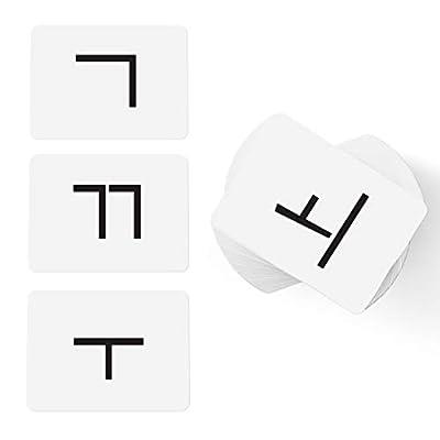 CARDDIA Korean Alphabet - Hangul: Toys & Games