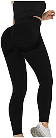 Women's Leggings High-Waist Tummy Control Hip-Lifting Soft Workout Yoga Running Leggings P