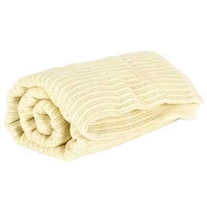 College Classic Twin XL Thermal Cotton Blanket