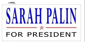 Sarah Palin for President 2012 - Window Bumper Locker - Bumper Stickers Palin Sarah